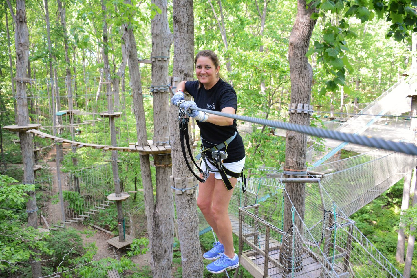 Tree Top Adventure Park Ropes Course Icy Strait Point Icy Strait Point